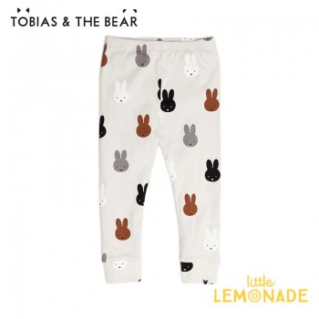<img class='new_mark_img1' src='https://img.shop-pro.jp/img/new/icons1.gif' style='border:none;display:inline;margin:0px;padding:0px;width:auto;' />【Tobias & The Bear】 Miffy & Friends leggings レギンス 【6-9/9-12/12-18/18-24/2-3歳/3-4歳】 パンツ ボトムス ミッフィー