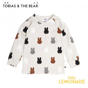 <img class='new_mark_img1' src='https://img.shop-pro.jp/img/new/icons1.gif' style='border:none;display:inline;margin:0px;padding:0px;width:auto;' />【Tobias & The Bear】 Miffy & Friends long sleeve tee 長袖シャツ  【12-18か月/18-24か月/2-3歳/3-4歳】 トップス ミッフィー