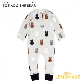 <img class='new_mark_img1' src='https://img.shop-pro.jp/img/new/icons1.gif' style='border:none;display:inline;margin:0px;padding:0px;width:auto;' />【Tobias & The Bear】 Miffy & Friends romper カバーオール 長袖長ズボン 【3-6/6-12/12-18/18-24か月】 ミッフィー&フレンズ