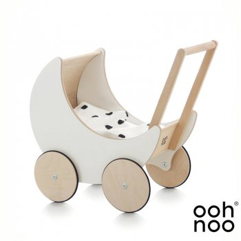 <img class='new_mark_img1' src='https://img.shop-pro.jp/img/new/icons1.gif' style='border:none;display:inline;margin:0px;padding:0px;width:auto;' />【ooh noo】   Toy Pram White 手押し車 トイプラム ホワイト