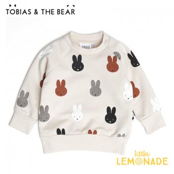 <img class='new_mark_img1' src='https://img.shop-pro.jp/img/new/icons1.gif' style='border:none;display:inline;margin:0px;padding:0px;width:auto;' />【Tobias & The Bear】 Miffy & Friends sweatshirt 長袖トレーナー【6-12か月/12-18か月/18-24か月/2-3歳/3-4歳】 トップス ミッフィー