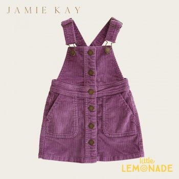 【Jamie Kay】GRACE DRESS - LAVENDER【1歳/2歳/3歳/4歳】 コーデュロイ スカート ジャンプスカート オーバーオール ジェイミーケイ