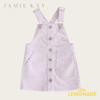 【Jamie Kay】GRACE DRESS - SOFT LILAC【1歳/2歳/3歳/4歳】 コーデュロイ スカート ジャンプスカート ライラック オーバーオール ジェイミーケイ