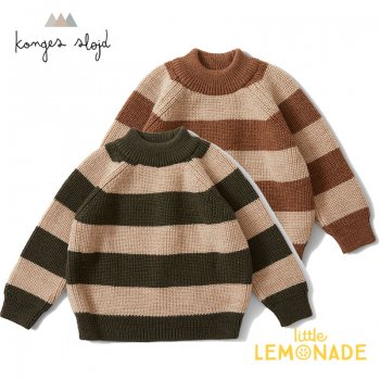 <img class='new_mark_img1' src='https://img.shop-pro.jp/img/new/icons1.gif' style='border:none;display:inline;margin:0px;padding:0px;width:auto;' />【Konges Sloejd】 WITUM KNIT SWEATER ボーダー セーター 【12か月/18か月】 ニット トップス   KS1607