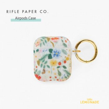 <img class='new_mark_img1' src='https://img.shop-pro.jp/img/new/icons1.gif' style='border:none;display:inline;margin:0px;padding:0px;width:auto;' />【RIFLE PAPER】 AirPods Case ストロベリーフィールド STRAWBERRY FIELDS  (PAC005)