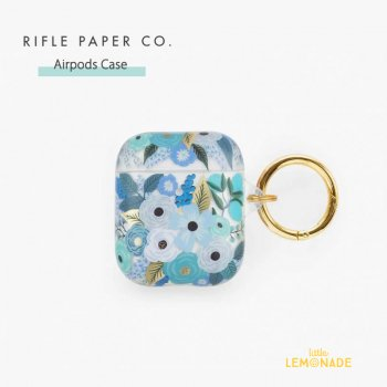 <img class='new_mark_img1' src='https://img.shop-pro.jp/img/new/icons1.gif' style='border:none;display:inline;margin:0px;padding:0px;width:auto;' />【RIFLE PAPER】 AirPods Case ブルーガーデン CLEAR GARDEN PARTY BLUE  (PAC003)