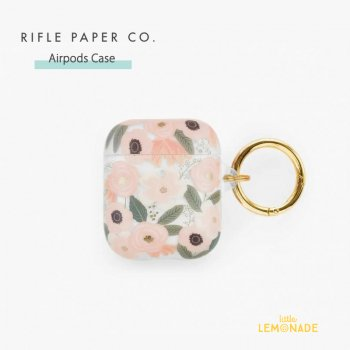 <img class='new_mark_img1' src='https://img.shop-pro.jp/img/new/icons1.gif' style='border:none;display:inline;margin:0px;padding:0px;width:auto;' />【RIFLE PAPER】 AirPods Case ワイルドフラワー CLEAR WILDFLOWERS  (PAC004)