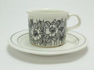 クロッカス 黒 Krokus Black コーヒーカップ