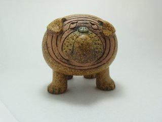 ブルドッグ Bulldog Midi 陶製人形