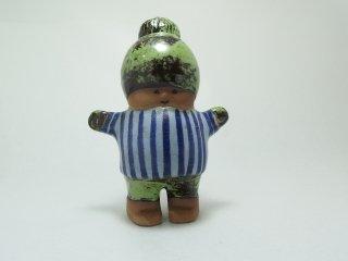 カッレ Kalle 陶製人形