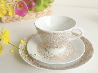 フィリグラン Filigran コーヒーカップ ゴールド2客セット【お取り置き品】