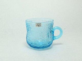 ファウナ Fauna 取っ手付きカップ ブルー