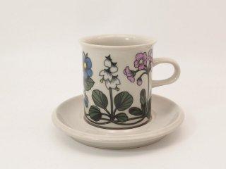 フローラ Flora コーヒーカップ【お取り置き品】