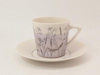 ケサ(kesa)ライラック コーヒーカップ&ソーサー
