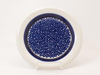 ファエンツァ(Faenza)ブルー/ プレート 17cm