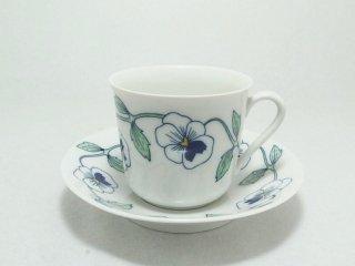 シルヴィア(Sylvia) コーヒーカップ&ソーサー