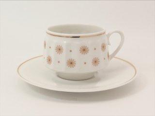 ロクサナ(Roksana) コーヒーカップ&ソーサー オレンジ