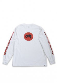 Immortal Records JAPAN FLAG ロングスリーブ Tシャツ