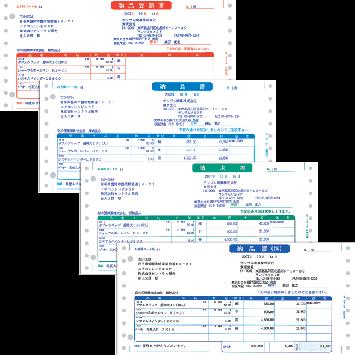 ソリマチ SR335 納品書F(連続用紙)500セット 【送料無料】 販売王サプライ