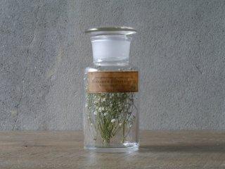 型吹きガラスの試薬瓶 M  No.07