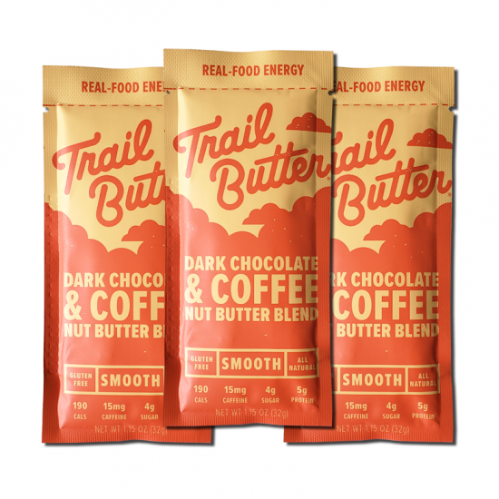 Trail Butter mini  / ダークチョコレート&コーヒー / 1.15oz 3本セット