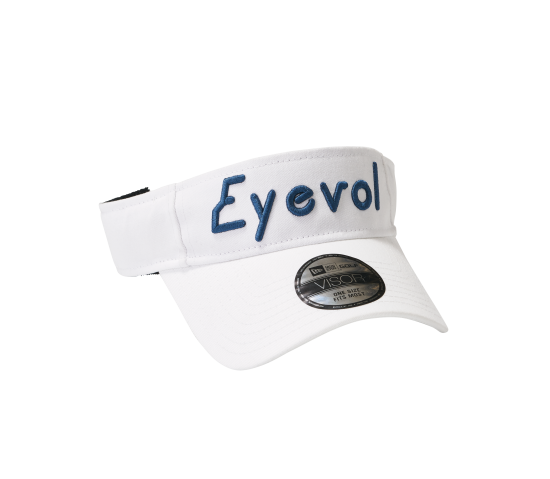 Eyevol SUNVISOR COTTON WHT
