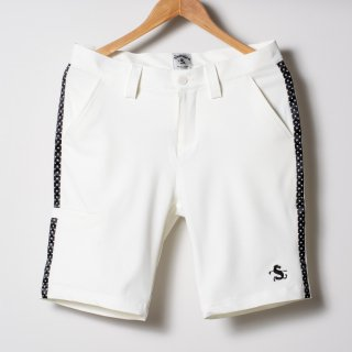Flat Front Golf Shorts, Star Lined