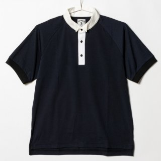 <img class='new_mark_img1' src='//img.shop-pro.jp/img/new/icons13.gif' style='border:none;display:inline;margin:0px;padding:0px;width:auto;' />Golf Shirts Wing Collar, Plain, Black
