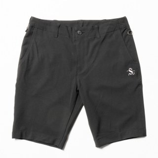 Slim-fit Shorts Color, Black