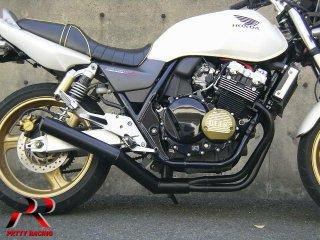 CB400SF VTEC NC39 ショート管 黒 マフラー