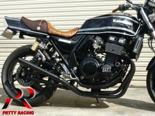 ZRX400/2 98〜 ミドル管 50.8π 黒 マフラー