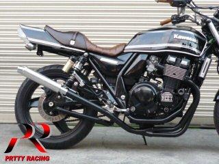 ZRX400/2 98〜 4-1管 ALサイレンサー 50.8π 黒 マフラー