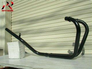 ホーク2 スリム管 黒 マフラー