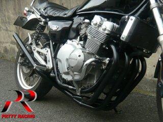 CB400F NC36 スリム管 黒 マフラー