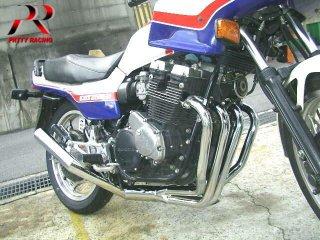 CBX400F ショート管 メッキ マフラー