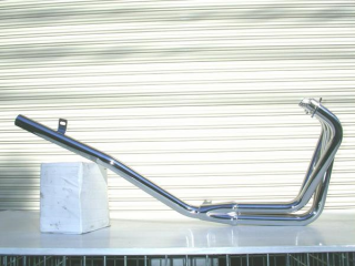 CBX400F スリム管 メッキ マフラー