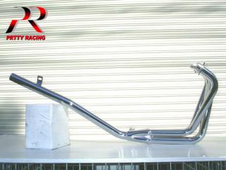 CBX400F ミドル管 50.8π メッキ マフラー