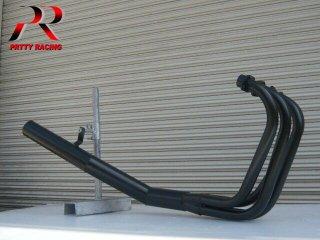 CBR400F ショート管 ブラック マフラー