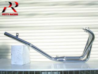 CBR400F スリム管 メッキ マフラー