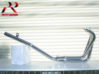 CBR400F ミドル管 50.8π メッキ マフラー