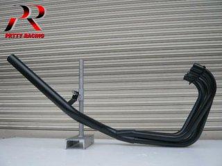 XJ400 E/D  ミドル管 50.8π 黒 マフラー