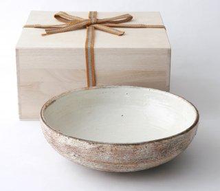 渕荒横彫 盛鉢