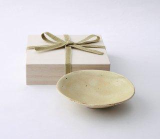 灰釉 平鉢