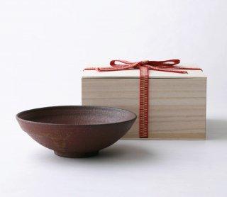 鉄赤 小鉢16cm