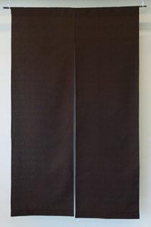 無地染め綿「こげ茶」 縦150cm×横90cm