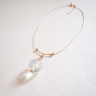 Big clearball Necklace