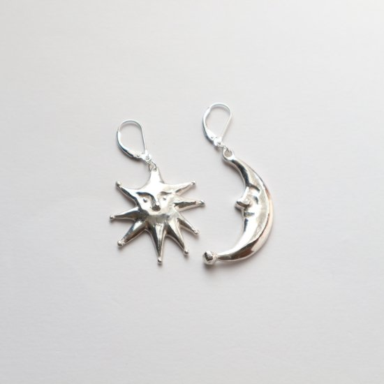 <SV925> Luna&Stella pierce/earring