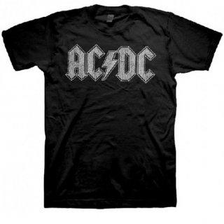 AC/DC White Logo, Tシャツ