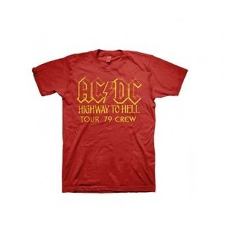 AC/DC Highway to Hell Tour 79 Crew, Tシャツ
