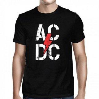 AC/DC Stencil Bolt, Tシャツ